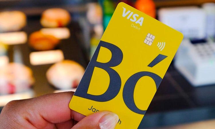 Bó bank card