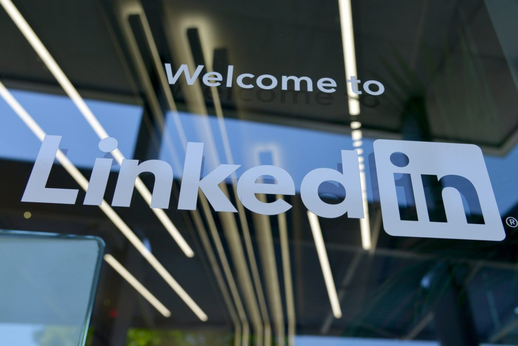 LinkedIn office entrance